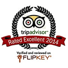 Tripadvisor - Rated Excellent 2013