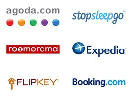 We supply our villas to Booking.com, Agoda.com, Roomarama and many more
